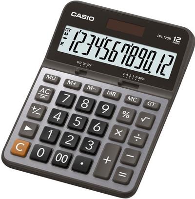 CASIO 12 Digit Desktop Calculator (DX-120B)