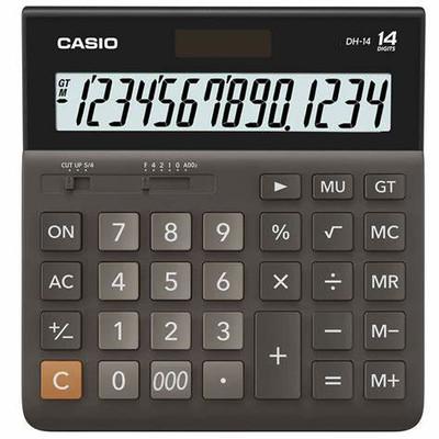 CASIO 14 Digit Desktop Calculator (DH-14)