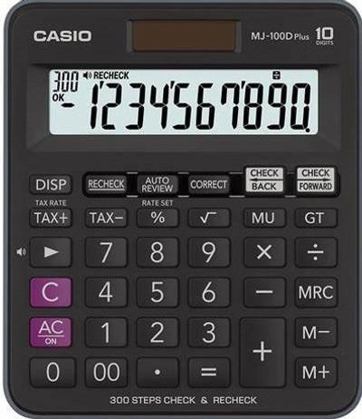 CASIO 10 Digit Calculator (MJ-100DPLUS)