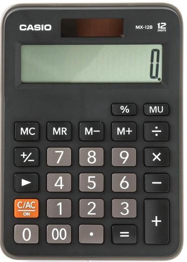 CASIO 12 Digit Desktop Calculator (MX-12B)