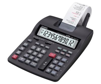 CASIO 12 Digit Compact Printing Calculator (HR-150TM)