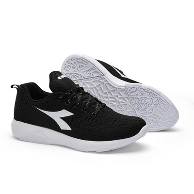 DIADORA Womens X Run Light 6 Running Shoes - Black/White (176886)