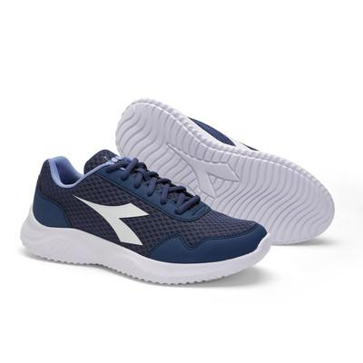 DIADORA Womens Robin 2 Running Shoes - Navy/Cornflour Blue (176969)