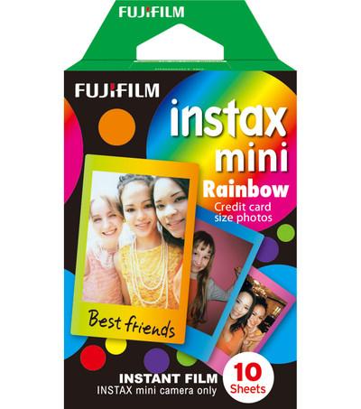 FUJIFILM Instax Mini Film - Rainbow (10pack)