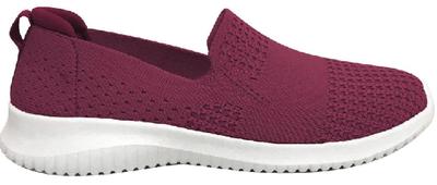 DIADORA Womens Coast Casual Walking Shoes - Plum (FCW20_001W)