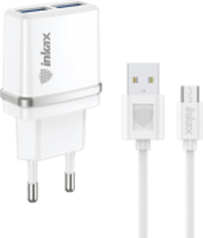 INKAX Charger with Micro USB Cable (CD-11-MICRO)