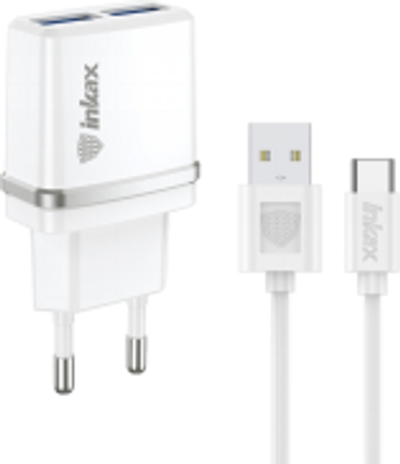 INKAX Charger with Type-C USB Cable (CD-11-TYPE-C)
