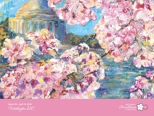 2018 Official National Cherry Blossom Festival Poster (Unframed)