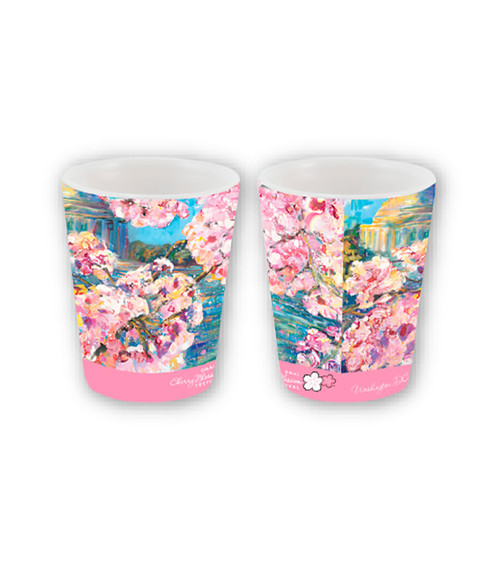 2018 NCBF CERAMIC SUBLIMATION SHOT GLASS
