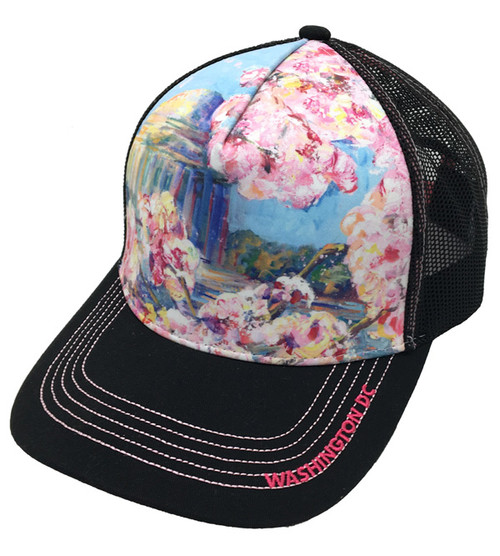 2018 NCBF SUBLIMATION AND EMBROIDERED TRUCKER CAP