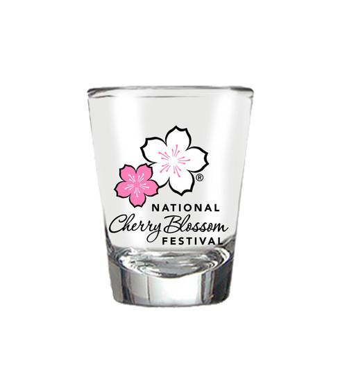 NCBF Shot Glass Multi-Color Logo