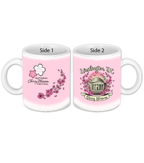 LADIES APOTHECARY JEFFERSON MEMORIAL SUBLIMATION MUG