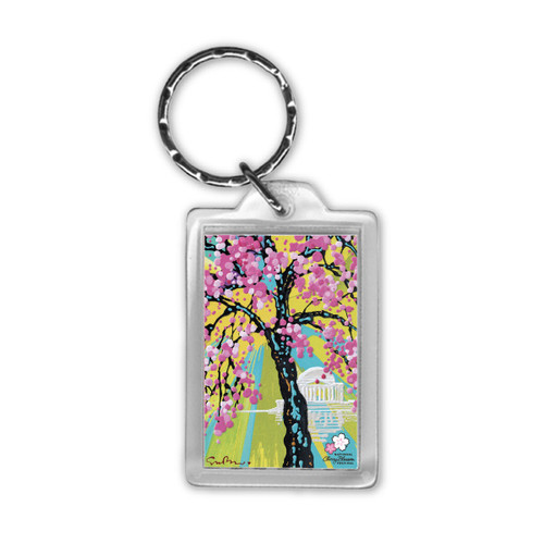 2019 National Cherry Blossom Festival Official Art Key Tag