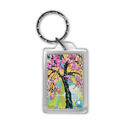 2019 National Cherry Blossom Festival Official Art Key Tag