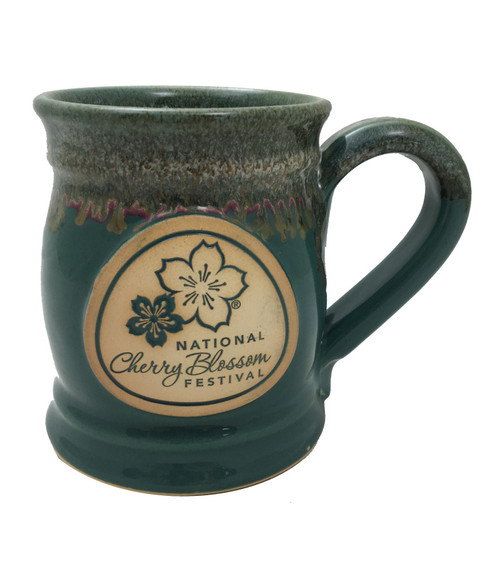 National Cherry Blossom Stoneware Mug