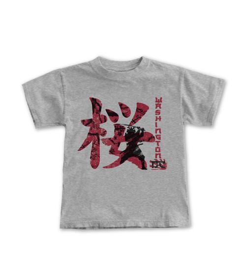 Cherry Blossom Sakura Samurai Youth Tee