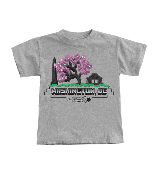 National Cherry Blossom Festival Bitmap Youth Tee