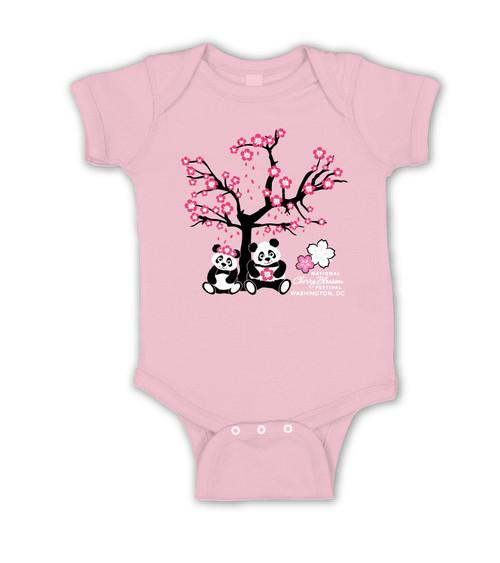 NCBF Cherry Blossom Pandas Onesie