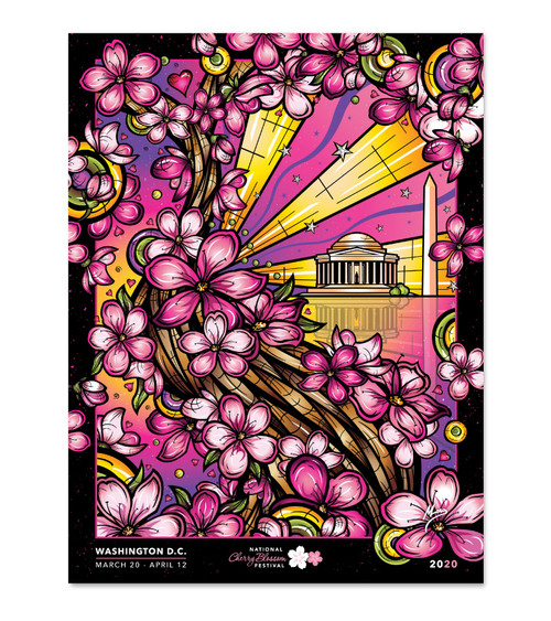 2020 Official National Cherry Blossom Festival Poster
