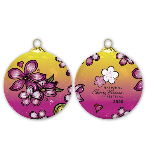 2020 Official National Cherry Blossom Festival Ornament