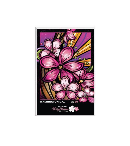 2020 Official National Cherry Blossom Festival Lucite Magnet