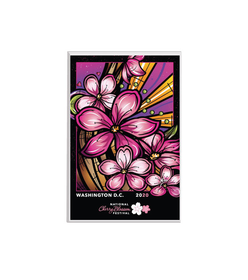2020 Official National Cherry Blossom Festival Lucite Magnet