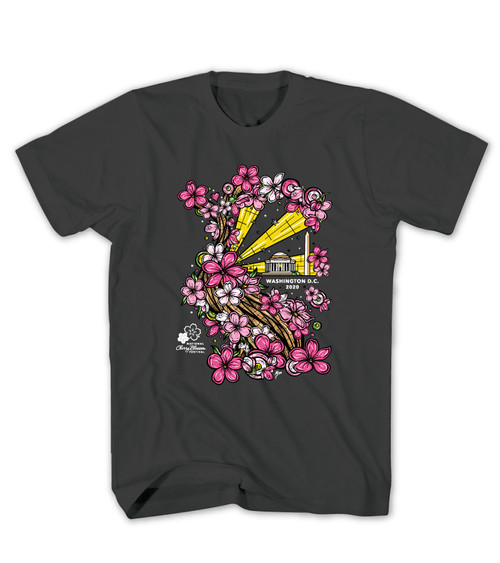 2020 Official National Cherry Blossom Festival Black Tee