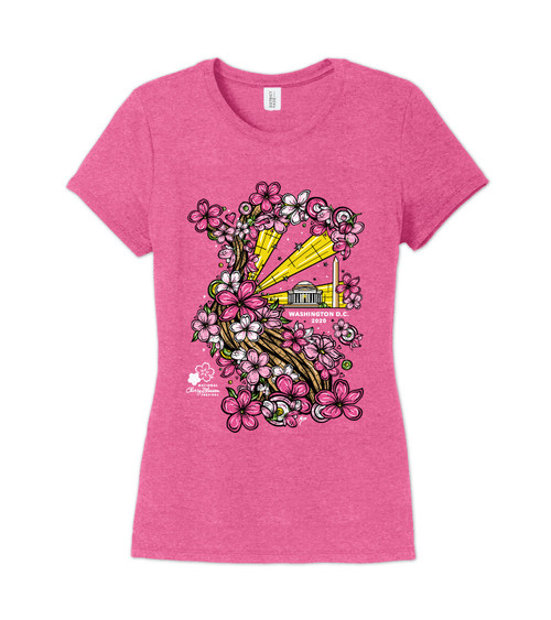 2020 Official National Cherry Blossom Festival Ladies Tee