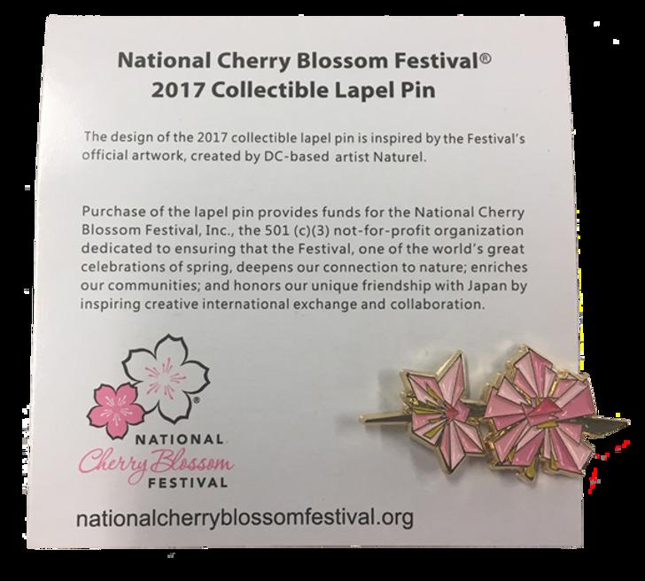 2017 National Cherry Blossom Lapel Pin