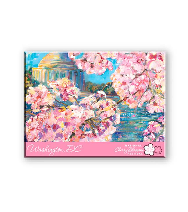 2018 National Cherry Blossom Festival Lucite Magnet