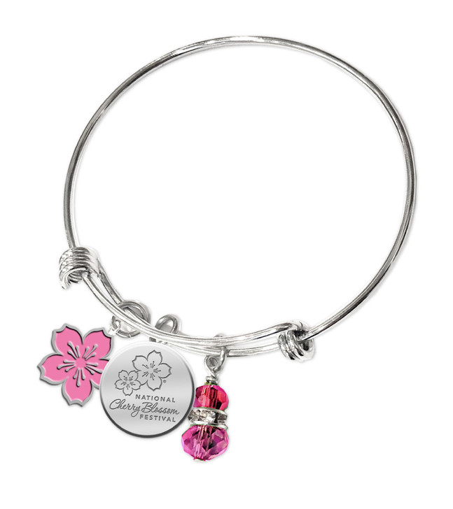 National Cherry Blossom Festival Bangle Bracelet