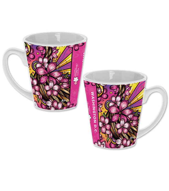 2020 Official National Cherry Blossom Festival Sublimation Funnel Mug