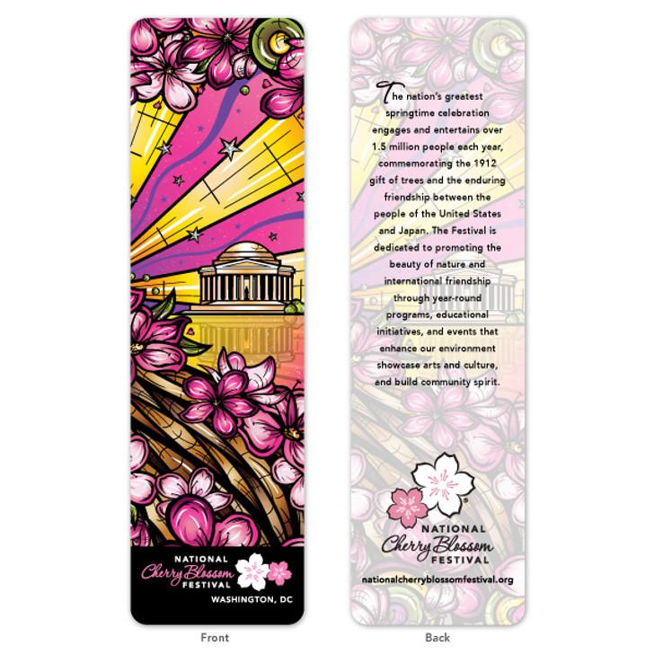 2020 Official National Cherry Blossom Festival Bookmark