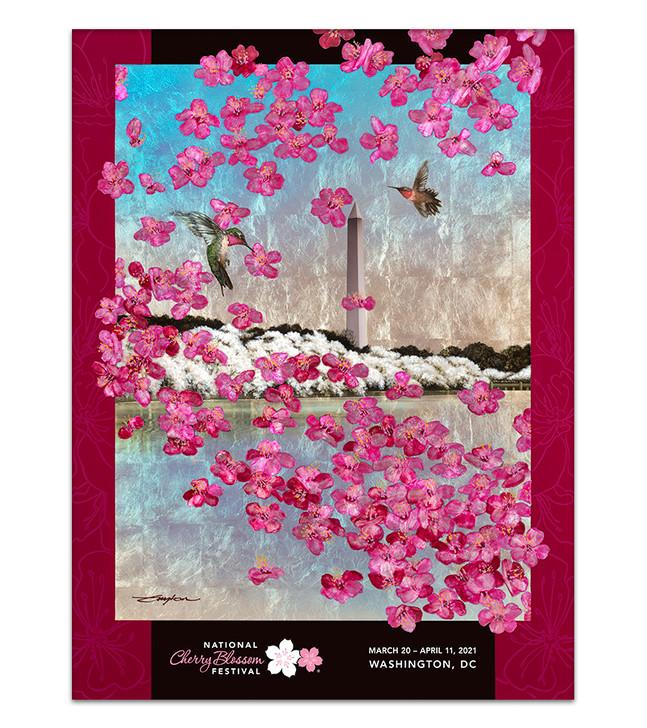 2021 Official National Cherry Blossom Festival Poster