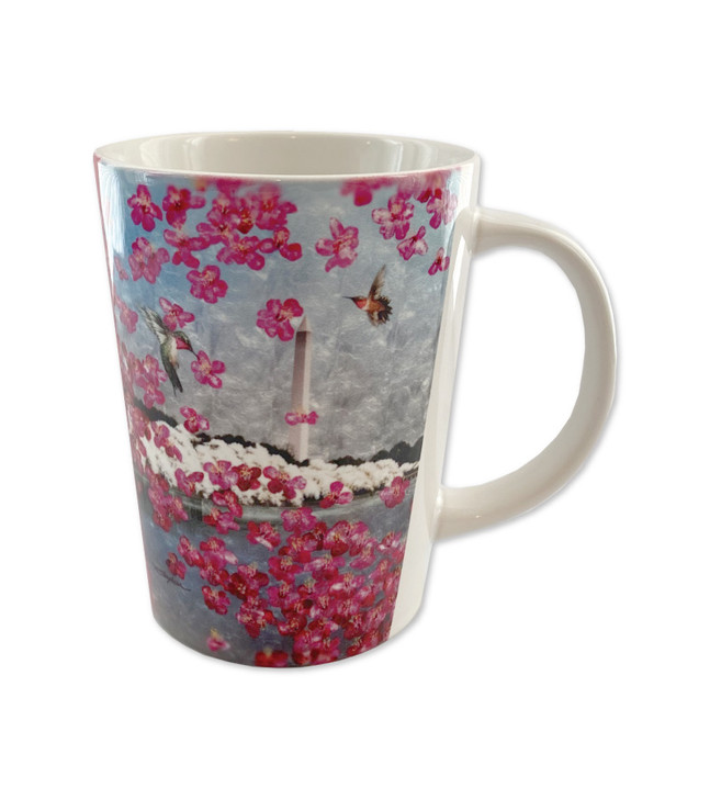 2021 Official National Cherry Blossom Festival Sublimation Funnel Mug