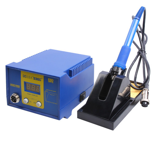 AsFrost Soldering Station, 60W Digital Display Solder Station Welding Iron with Adjustable Temperature (122°F-896°F), Auto Sleep Function, ESD SAFE