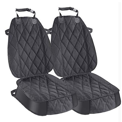 Pet Deluxe Dog Seat Cover Cars Trucks SUVs, Thick 600D Heavy Duty Pets Car Seat Cover, Waterproof & Wear-Resistant Durable Nonslip Backing & Hammock Convertible