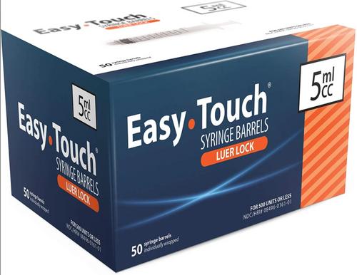 EasyTouch® Luer Lock Barrel 5mL
