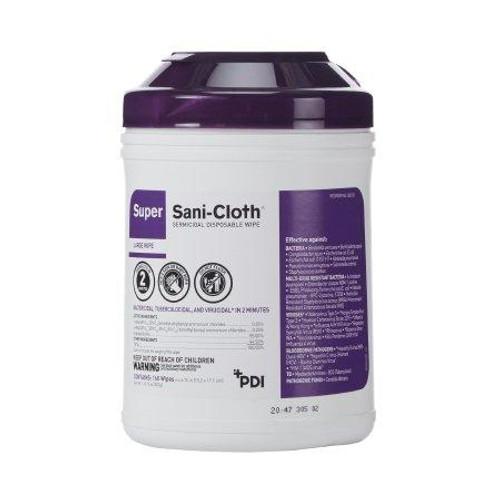 PDI Super Sani-Cloth® Disinfectant Wipe