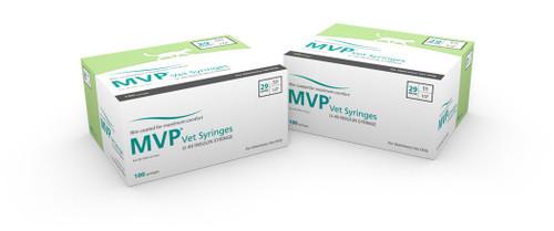MVP® Vet U-40 Syringes - 29G