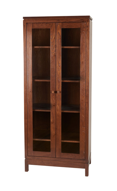 Penn State Elms Collection Glass Display Multi-Purpose Bookcase III