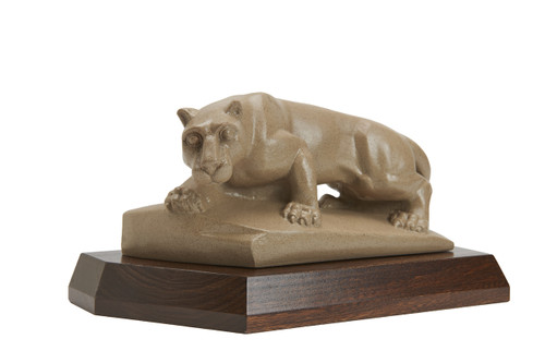 Penn State Elms Collection Official  Nittany Lion Statue on Elm Wood Base