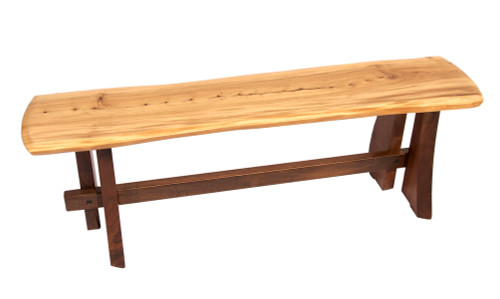 Penn State Elms Collection Artisan Line Bench Featuring Old Main Elms