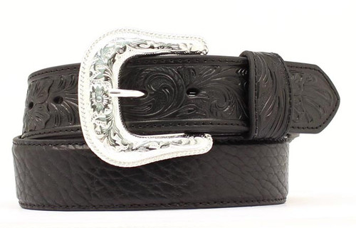 NOCONA BLACK BULLHIDE BELT TOOLING - ACCESSORIES BELT MEN - N2438901