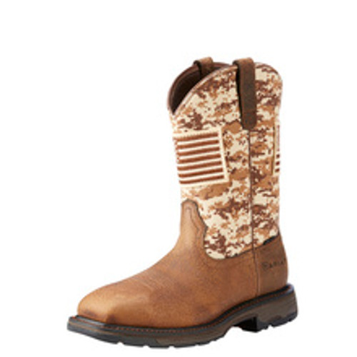 ARIAT WORKHOG PATRIOT - BOOT MENS WORK - 10022968