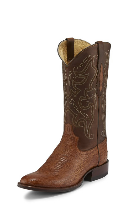 TONY LAMA PATRON SADDLE SMOOTH OSTRITCH - BOOT MENS WESTERN - TL5375