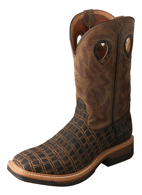 TWISTED X CAYMAN LITE COWBOY PRINT - BOOT MENS WORK - MLCA003