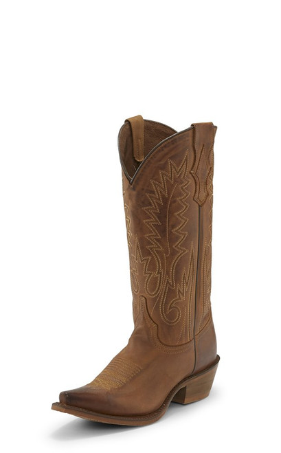 NOCONA ETTA BROWN WESTERN BOOT - BOOT LADIES   - NL7058