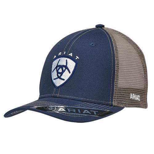 ARIAT NAVY CAP CENTERED SHIELD - HATS CAP   - 1595303
