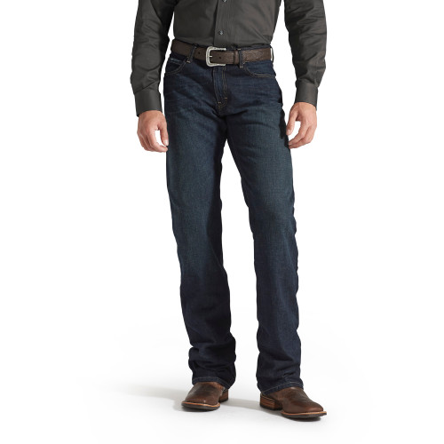 ARIAT M4 LOW RISE LEGACY BOOT CUT - MENS JEANS   - 10008402